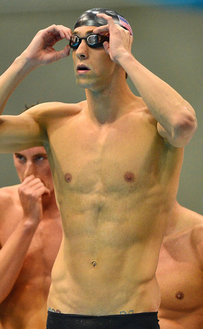 Olympic Rings Tattoos, Michael Phelps