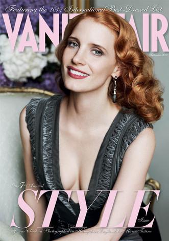 Jessica Chastain, Vanity Fair, September cover