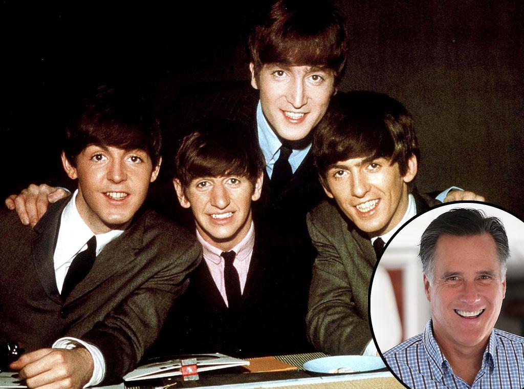 The Beatles, Mitt Romney