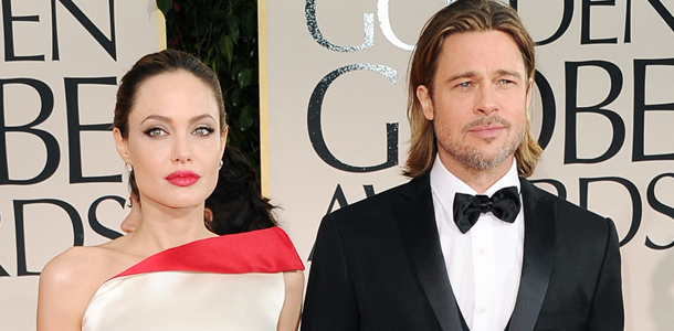 Front Door, Brad Pitt, Angelina Jolie