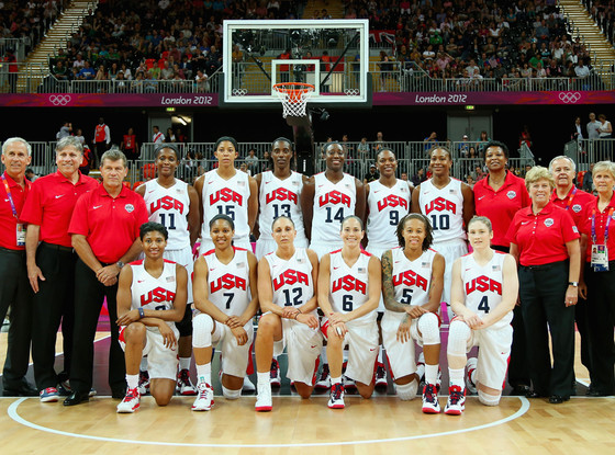 Team USA Women's Basketball, Olympics