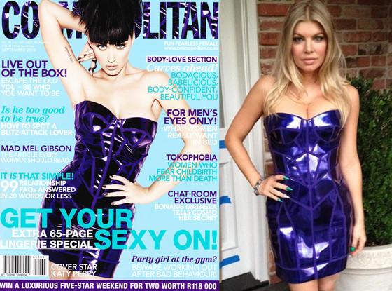 Katy Perry, Cosmopolitan, Fergie, Twitter