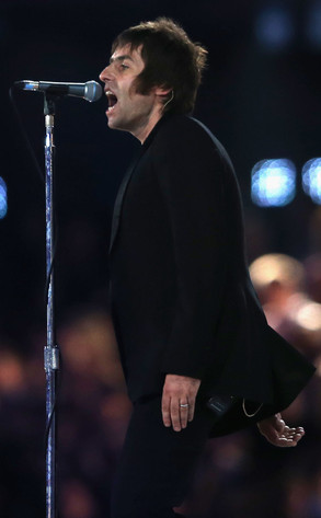 Liam Gallagher, Beady Eye, 2012 London Olympic Games Closing Ceremony