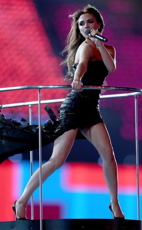 Closing Ceremony London 2012 Olympic Games, Victoria Beckham, Spice Girls