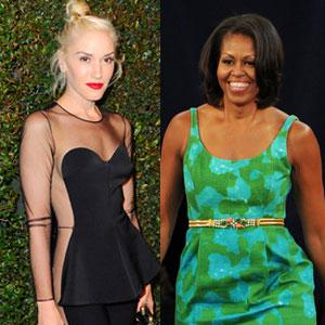 Michelle Obama, Gwen Stefani