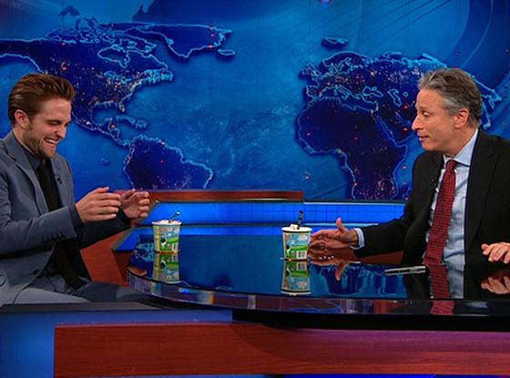 Rob Pattinson, Jon Stewart, The Daily Show