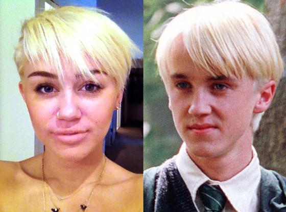 Miley Cyrus, Draco Malfoy