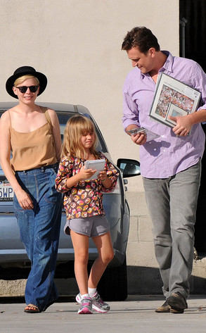 Michelle Williams, Jason Segel, Matilda Ledger