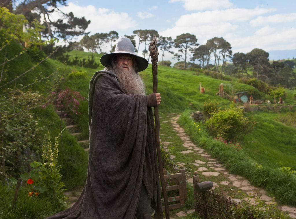 Ian McKellen, The Hobbit and Unexpected Journey