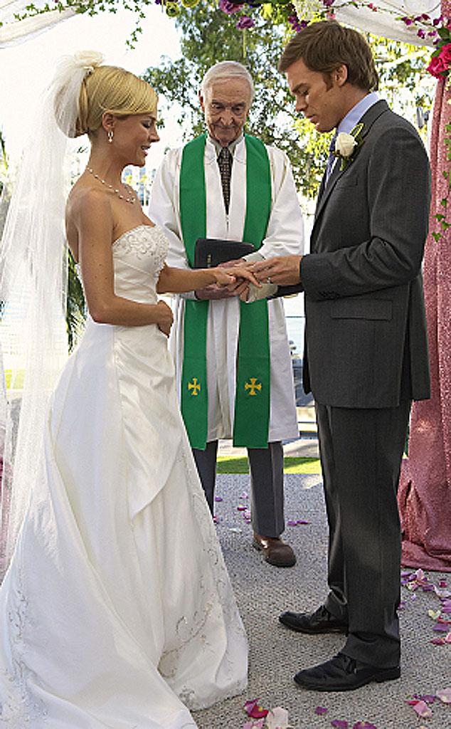 Julie Benz, Michael C. Hall, Dexter