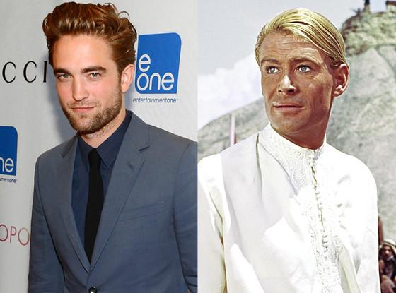 Robert Pattinson, Peter O'Toole, Lawrence of Arabia,
