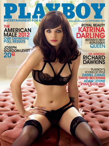Katrina Darling, Playboy, Kate Middleton's Cousin