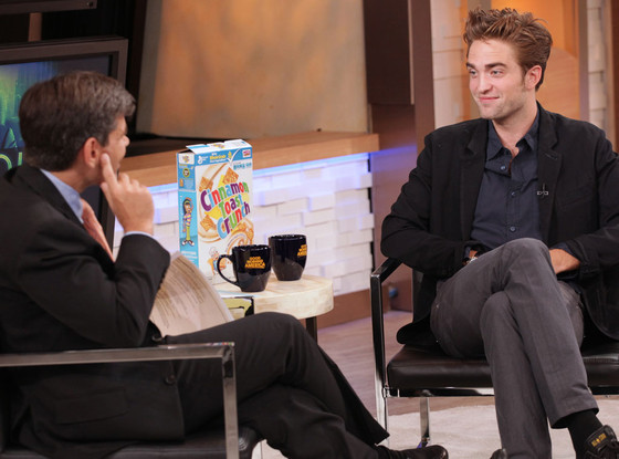 Robert Pattinson, Good Morning America