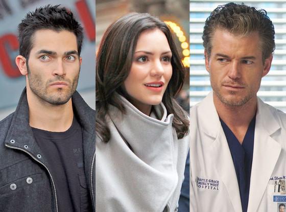 Eric Dane, Grey's Anatomy, Katharine McPhee, Smash, Tyler Hoechlin, Teen Wolf