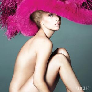 Lady Gaga, VOGUE Interior