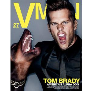 Tom Brady, V Man Cover