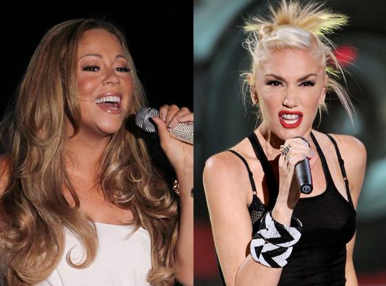Mariah Carey, Gwen Stefani