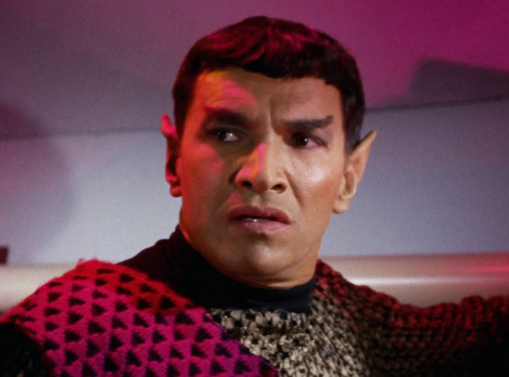 Mark Lenard, Romulan Commander, Star Trek