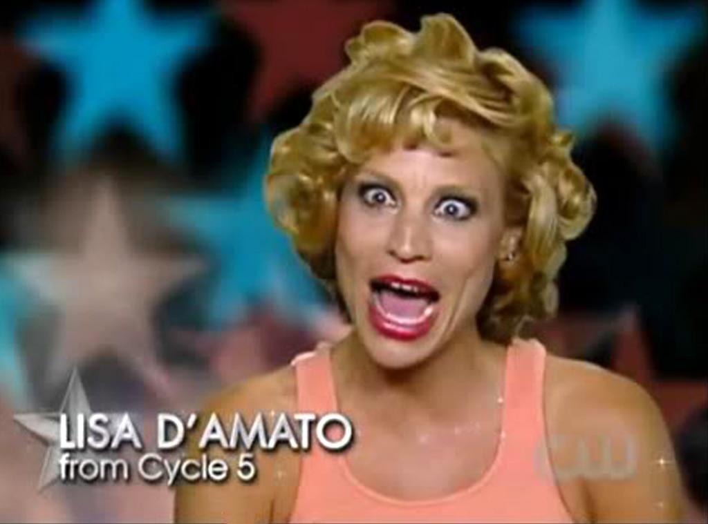 America's Next Top Model, OMG Moments, Lisa