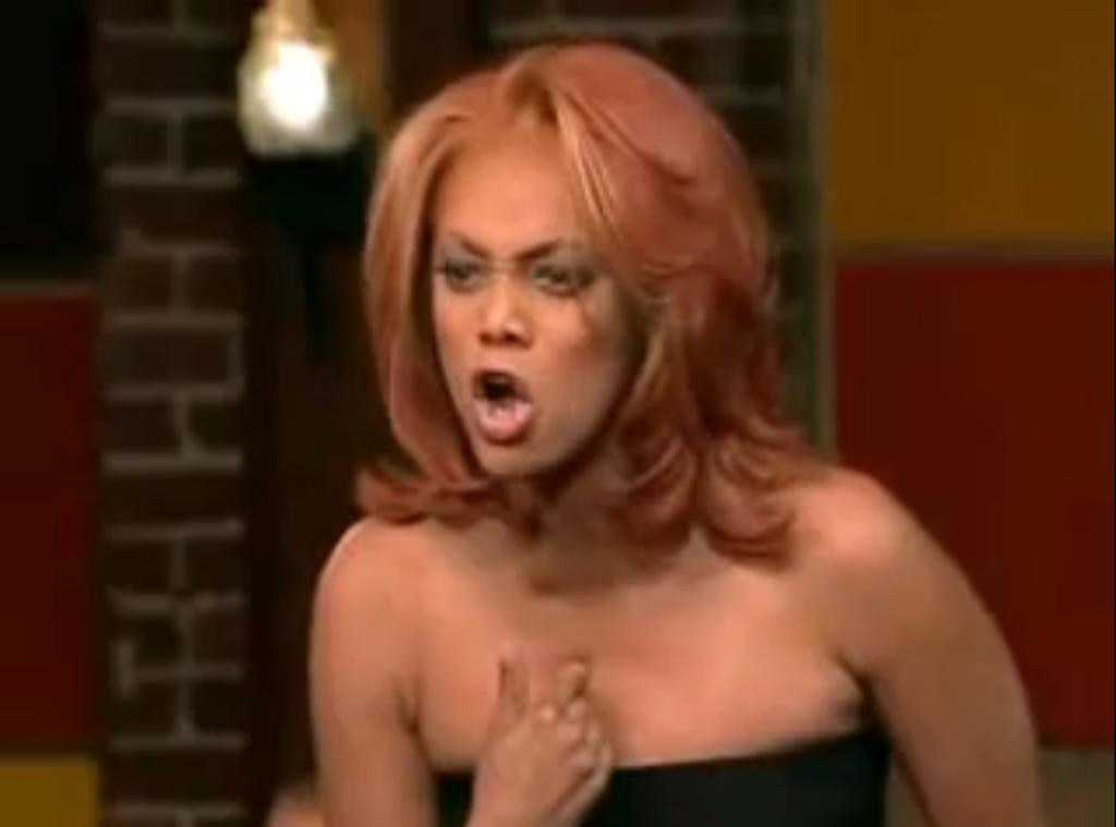 America's Next Top Model, OMG Moments, Tyra Banks