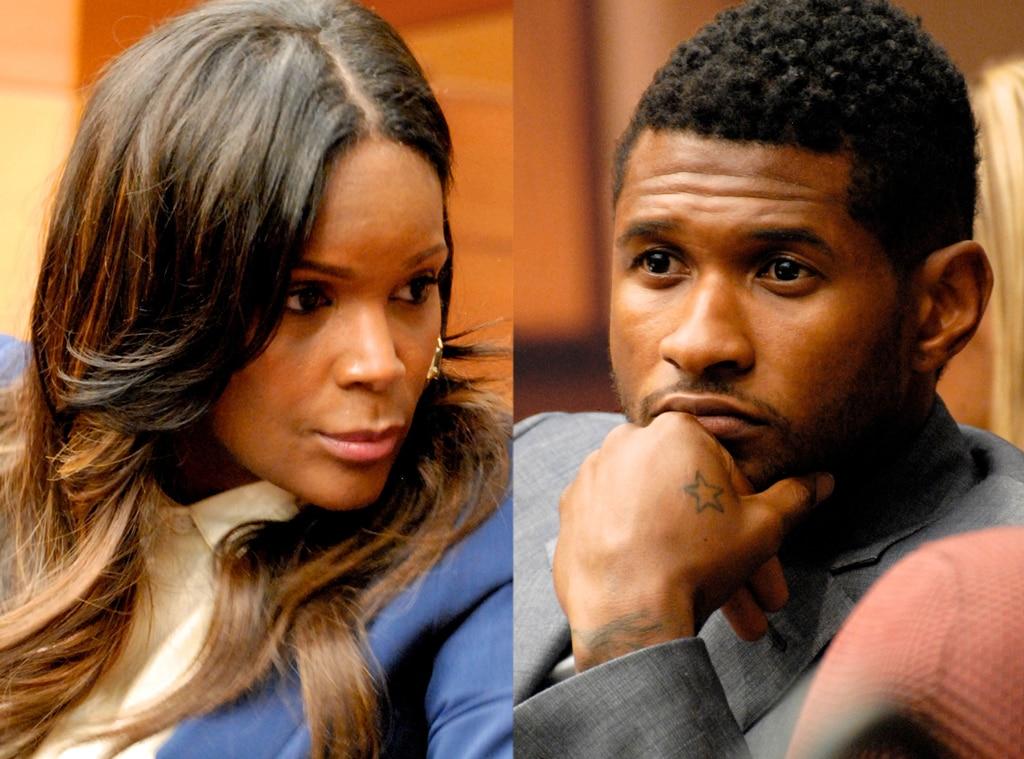 Tameka Foster, Usher Raymond,