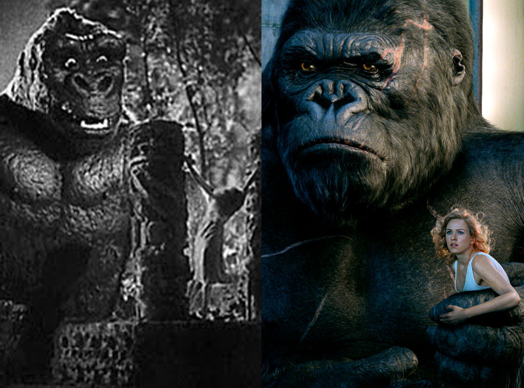 King Kong 1933 2005 From Movie Remakes E News