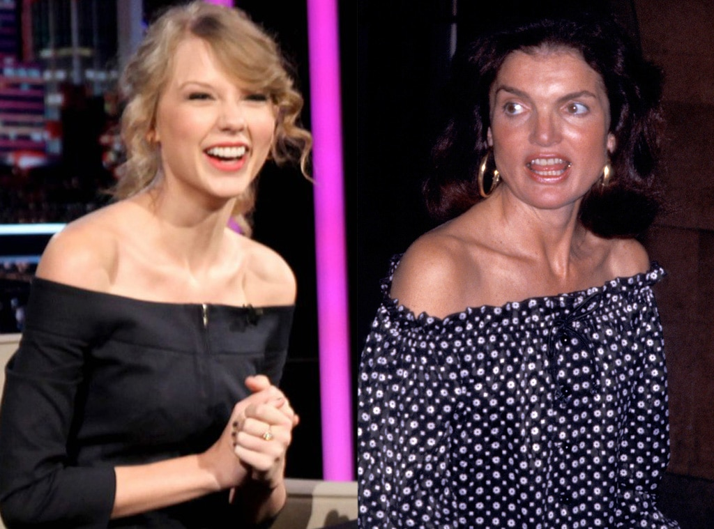 Taylor Swift, Jackie Kennedy, Off the Shoulder