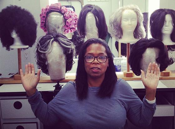 Oprah Winfrey, Wigs