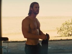 Thor, Chris Hemsworth, Shirtless