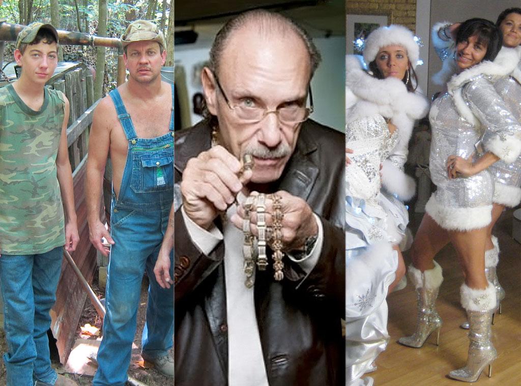 Moonshiners, Hard-Core Pawn, My Big Fat Gypsy Wedding