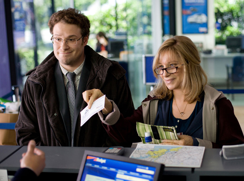 Seth Rogen, Barbra Streisand, The Guilt Trip