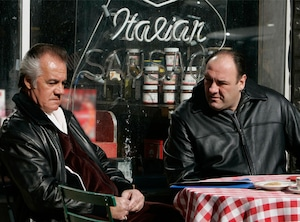 Tony Sirico, James Gandolfini, The Sopranos