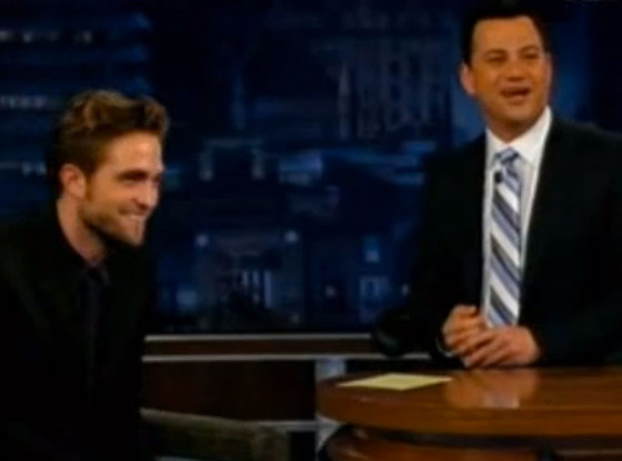Rob Pattinson, Jimmy Kimmel Live