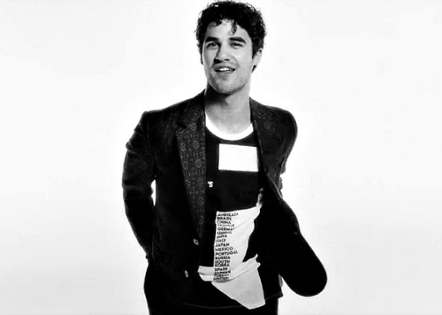 Darren Criss by Fashion's Night Out 2012