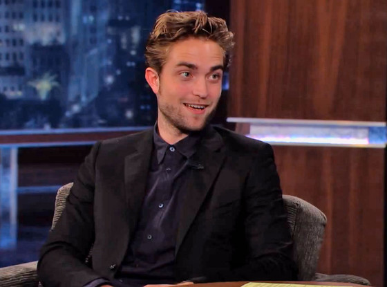 Robert Pattinson, Jimmy Kimmel