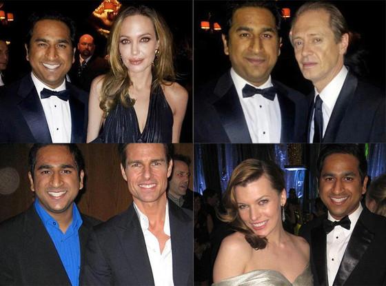 Vivek Shah, Angelina Jolie, Milla Jovovich, Steve Buscemi, Tom Cruise