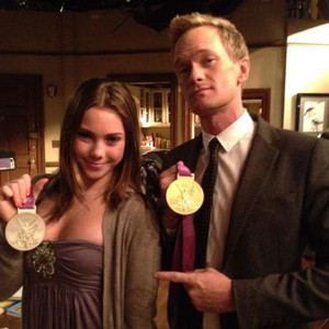 McKayla Maroney, How I Met Your Mother Set