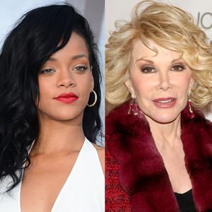 Rihanna, Joan Rivers