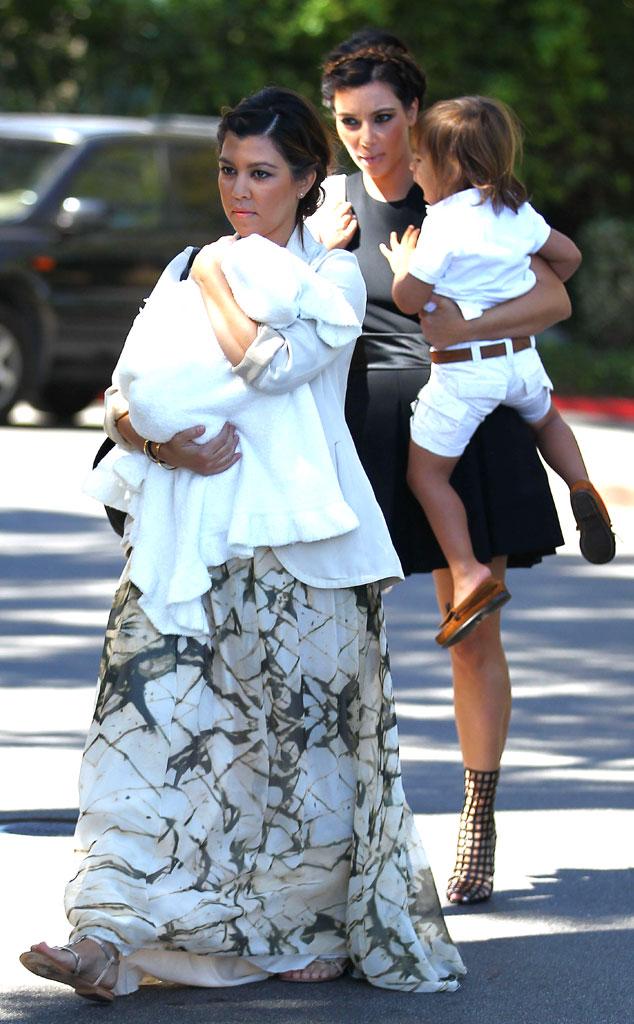 Kim Kardashian, Kourtney Kardashian, Mason Disick, Penelope Disick