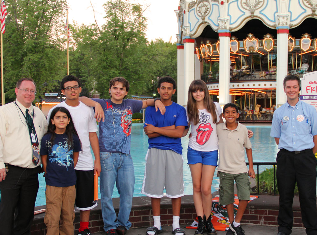 Jackson Kids, Chicago's Six Flags Great America