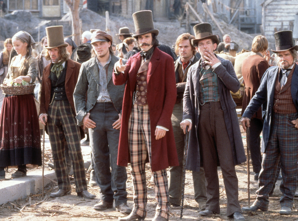 Leonardo DiCaprio, Daniel Day-Lewis, Gangs of New York