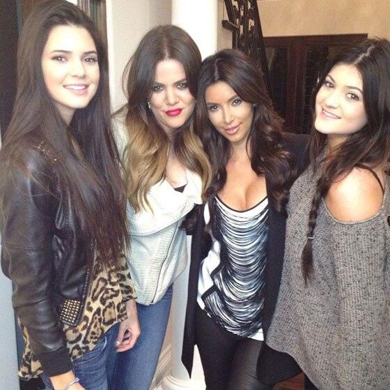 Kardashian Kendall Sisters, Twit Pics
