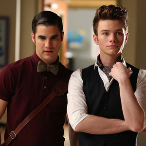 Glee, Darren Criss, Chris Colfer