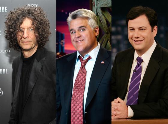 Jimmy Kimmel, Jay Leno, Howard Stern