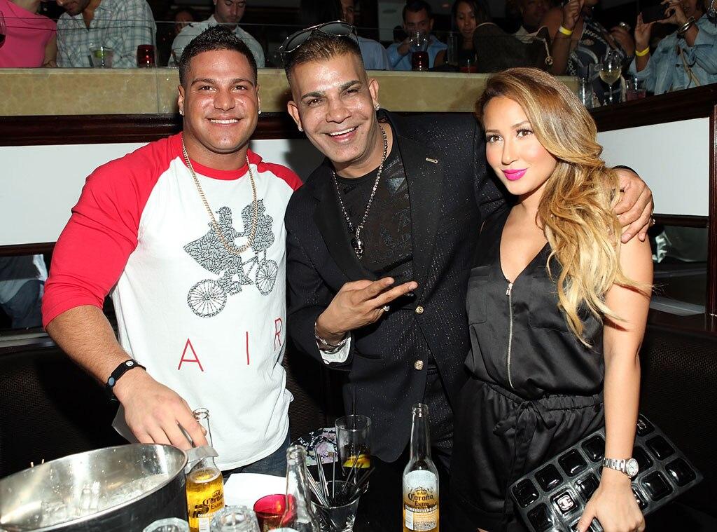 Ronnie Ortiz Magro, Prince Malik, Adrienne Bailon