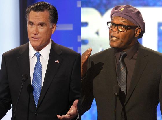 Samuel L. Jackson, Mitt Romney