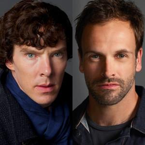 Benedict Cumberbatch, Sherlock, Johnny Lee Miller, Elementary