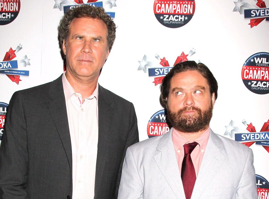 Will Ferrell, Zach Galifianakis
