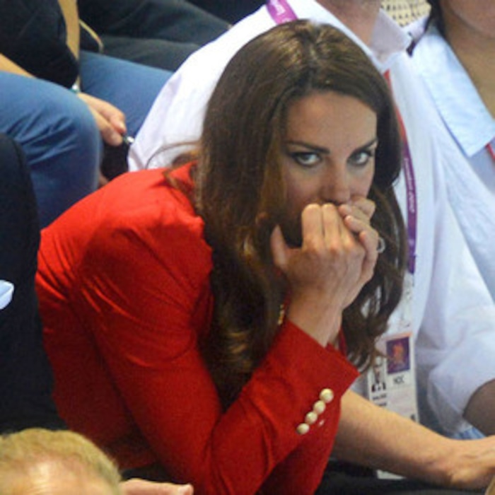 Kate Middleton Cheers on Team G.B. in Nail-biting Race! | E! News
