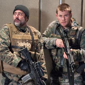 RED DAWN, Chris Hemsworth, Jeffrey Dean Morgan